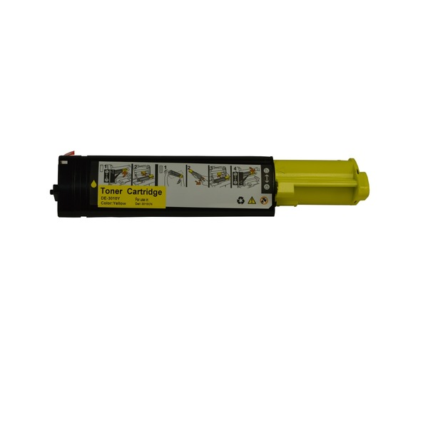 Dell 3010 Yellow Premium Compatible Toner Cartridge
