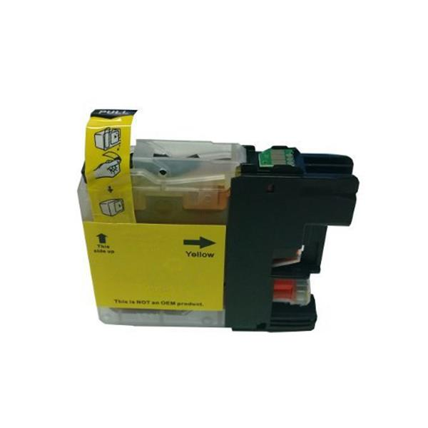 Brother LC 133 Yellow ink cartridge