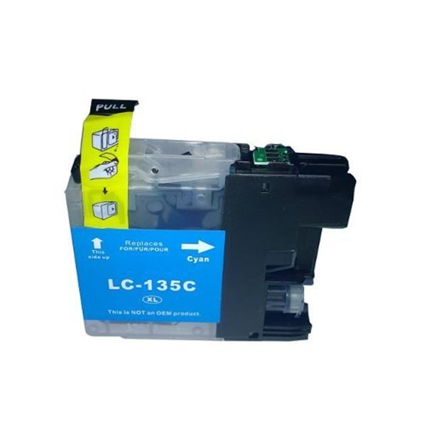 Brother LC 135 XL Cyan High yield ink cartridge