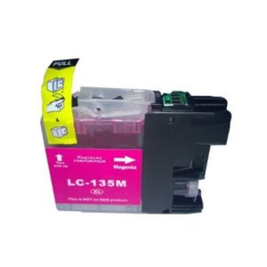 Brother LC 135 XL Magenta High yield ink cartridge